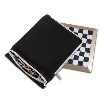 Sterling Games Plastic Magnetic Chess with Carrying Case
