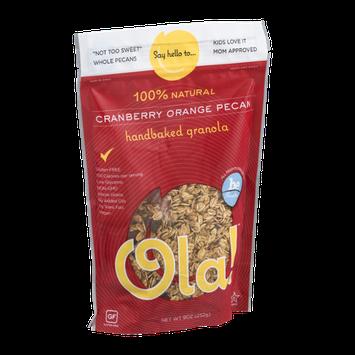 Ola! 100% Natural Handbaked Granola Cranberry Orange Pecan