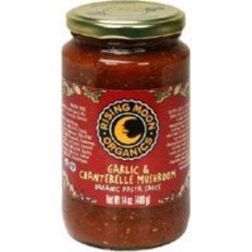 Rising Moon Organic Pasta Sauce Garlic And Chanterelle Mushroom -- 14 fl oz