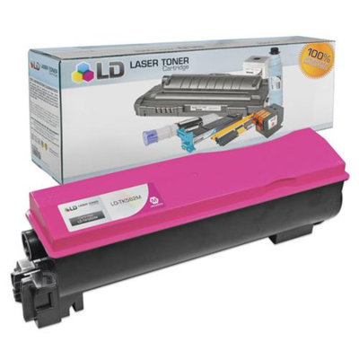 LD Kyocera-Mita Compatible TK562M Magenta Laser Toner Cartridge for use in FS-C5300DN, FS-C5350DN, and P6030cdn Printers