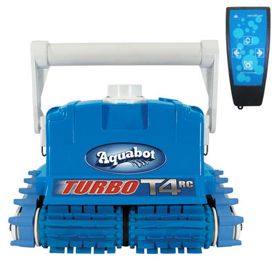 Aqua Products Aquabot Turbo T4-RC Cleaner with Caddy for In-ground Pools