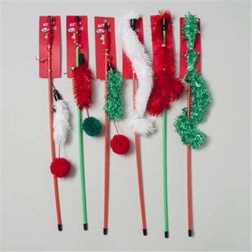 DDI 1487260 Christmas Cat Toy Wand Case Of 144