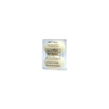 de-luxe SaVon de-luxe 2-Pack, Almond & Oatmeal - 1 set