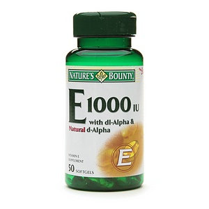 Nature's Bounty Vitamin E 1000 IU