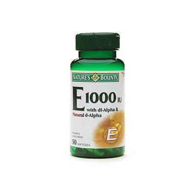 Nature's Bounty Vitamin E 1000 IU