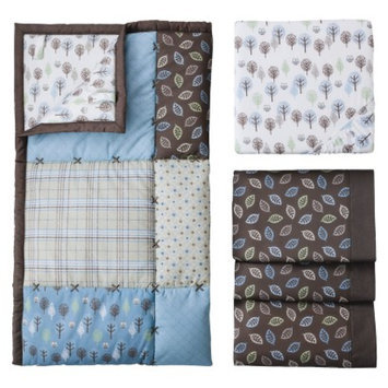 Eddie Bauer Owl & Trees 3pc Crib Bedding