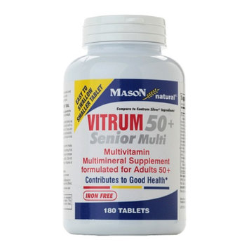 Mason Natural Vitrum 50+ Senior Multivitamin