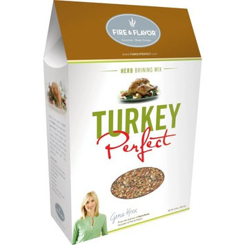Fire & Flavor Turkey Perfect, Herb Brining Mix, 20.8-Ounce Packages (Pack of 3)