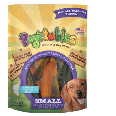 Pegetables Nature's Dog Chews Dental Dog Chews