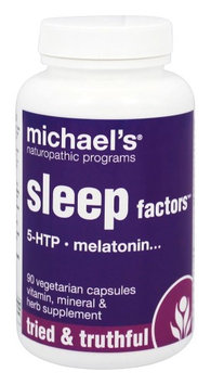 Michaels Naturopathic Programs Michael's Naturopathic Programs - Sleep Factors - 90 Vegetarian Capsules