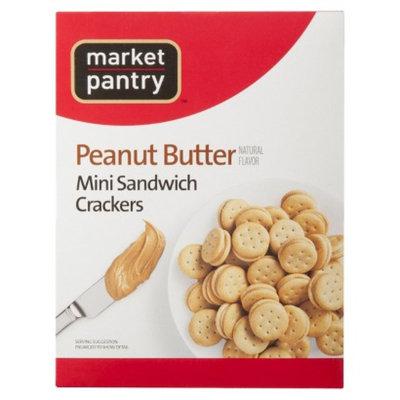 market pantry Market Pantry Peanut Butter Mini Sandwich Crackers 9.5 oz