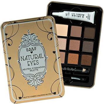 Hard Candy Look Pro! Tin Natural Eyes Neutral Eyeshadow Palette