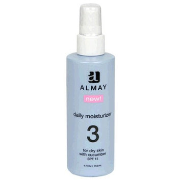 Almay Daily Moisturizer for Dry Skin with Cucumber & SPF 15