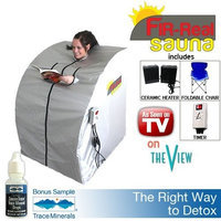 FIR-Real Portable Far Infrared Ray (FIR) Sauna X-Large