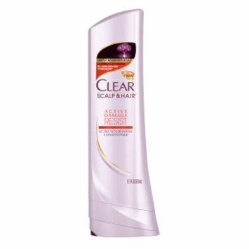 Clear Active Damage Resist Ultra Nourishing Conditioner, 12.7 fl oz