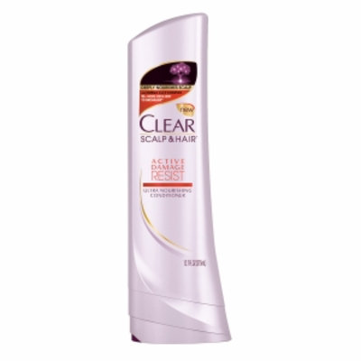Clear Active Damage Resist Ultra Nourishing Conditioner, 12.7 fl oz