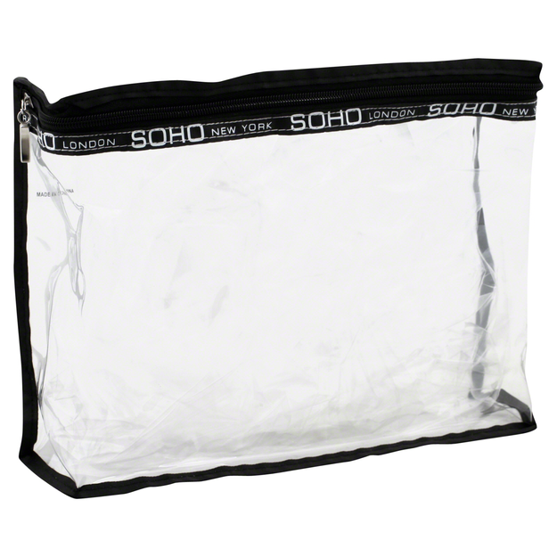 Soho Basics Bottle Bag, Clear, 1 bag