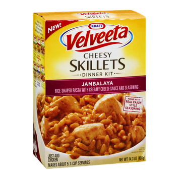 Kraft Velveeta Cheesy Skillets Dinner Kit Jambalaya