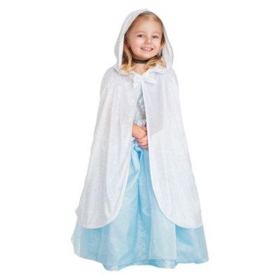 Little Adventures Child Cloak White S/M