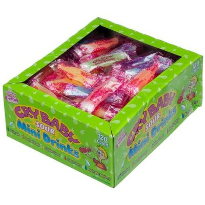 Cry Baby Sour Mini Drink bottles 120 count