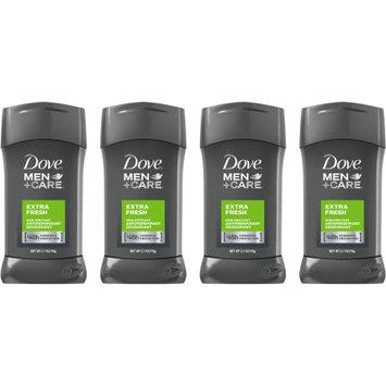 Dove Men+Care Extra Fresh Antiperspirant Stick 2.7 Oz 4 Ct