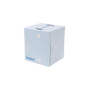 Appeal 274772 Appeal Cube Facial Tis Wht 2Ply