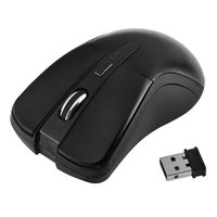 Insten INSTEN Black 2.4G Cordless 6 Keys Wireless Optical Mouse For Computer Laptop Desktop PC