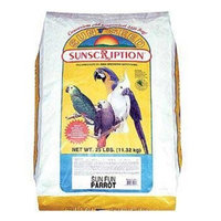 Sun Seed Company BSS44115 Sun Fun Daily Diets for Parrot, 25-Pound