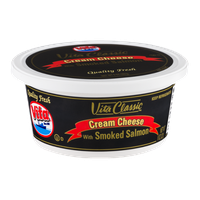 Vita Classic Cream Cheese with Smoked Salmon