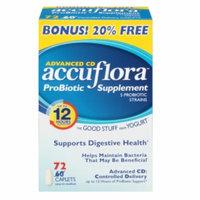 Accuflora Advanced CD Probiotic Acidophilus, Caplets, 72 ea