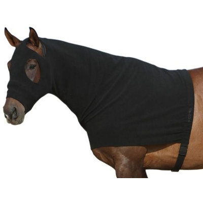 EOUS Fleece Hoodie with Zipper X-Large Black