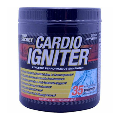 Top Secret Nutrition Cardio Igniter Raspberry 11.11 oz