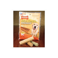 T.F.H Nylabone Enhanced Rawhide Joint Health Glucosamine & Chondroitin - Large 4 Inch, 16 Count