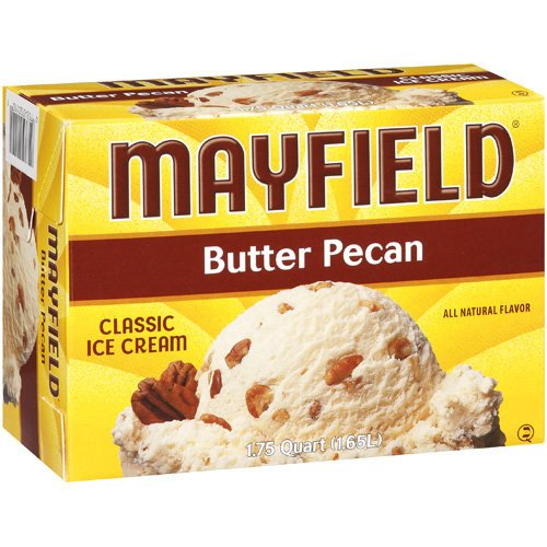 Mayfield Butter Pecan Ice Cream, 1.65 l