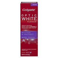 Colgate® OPTIC WHITE® PLATINUM WHITEN & PROTECT COOL MINT Toothpaste