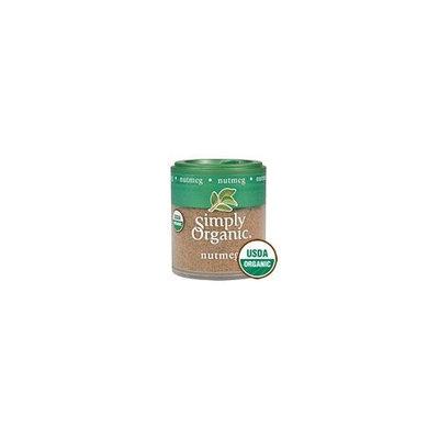 Simply Organic Nutmeg Ground Organic 0.53 Ounces (Case of 6)