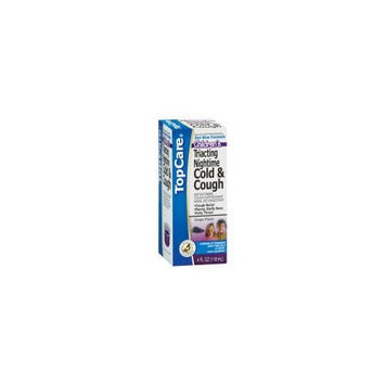 Top Care Children's Grape Triacting Nighttime Cold & Cough Liquid (Case of 3)
