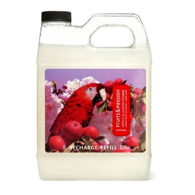 Fruits & Passion Imagine Hand Soap Refill, Apple Illusion, 33.8 ounce Bottle