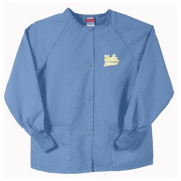 Eziba Gelscrubs Unisex Blue UCLA Bruins Nurse Jacket