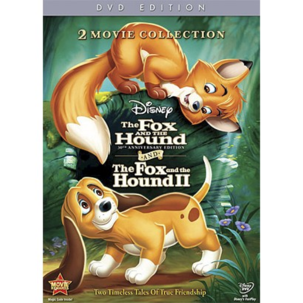 Walt Disney Video The Fox and the Hound 1 & 2 (30th Anniversary Edition)