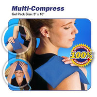 Medi Temp Hot & Cold 23100-md 10 x 5 in. Multi-Compress Therapy Pad