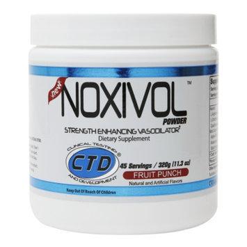 CTD Labs Noxivol Powder, Fruit Punch, 11.3 oz