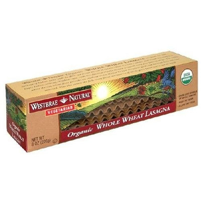 Westbrae Natural Vegetarian Organic Whole Wheat Lasagna, 8-Ounce Boxes (Pack of 12)