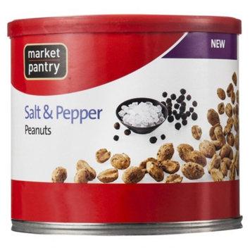 market pantry Market Pantry Salt & Pepper Peanuts 12 oz