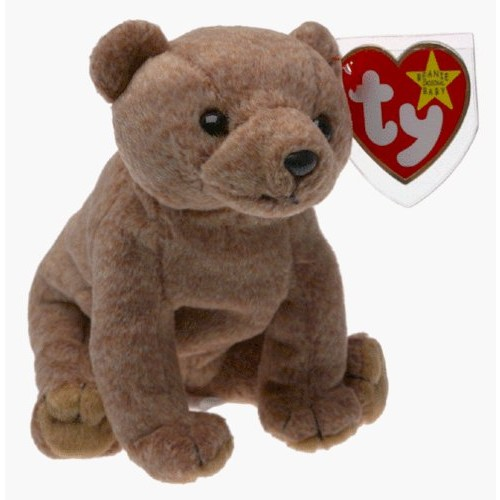 Ty Beanie Baby - PECAN THE BEAR Beanbag Plush [Toy]