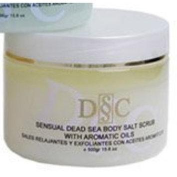 Deep Sea Cosmetics Sensual Dead Sea Body Salt Scrub milk and honey scent