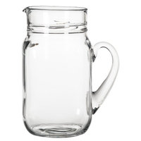 Libbey Glass Country Folk Pitcher - Large