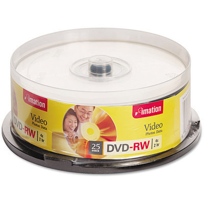 Imation 17346 4x DVD-RW 4.7GB 25PK single-si