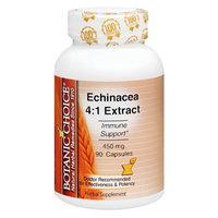 Botanic Choice Echinacea 4:1 Extract 450 mg Herbal Supplement Capsules