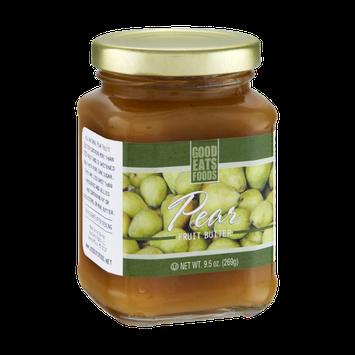 Good Eats Foods Pear Fruit Butter